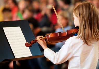 She is regarded as a talented young musician.