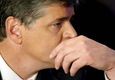 Talk-show host Sean Hannity is a dyed-in-the-wool conservative.