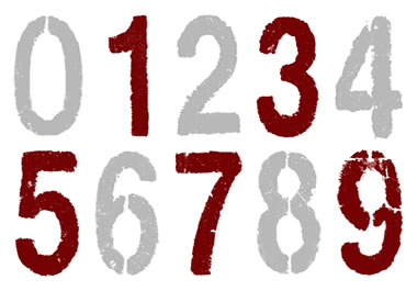 The numbers 1, 3, 5, 7 and 9 are odd, while 2, 4, 6, and 8 are even.