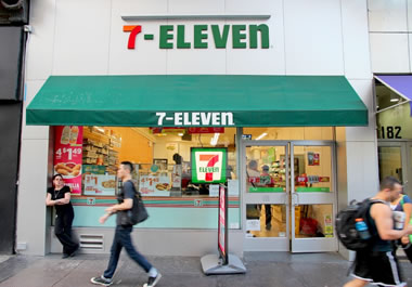 There are now 7-ELEVEN stores popping up all over New York City.