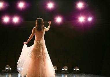 She gave a stellar performance.