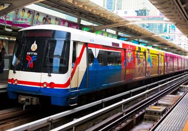 Mass transit system in Bangkok