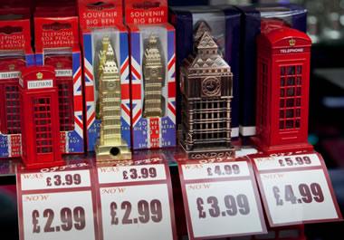 Souvenirs in London