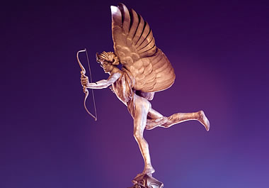 A golden cupid