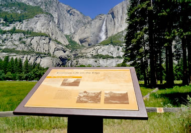 Yosemite National Park, a wilderness area in California