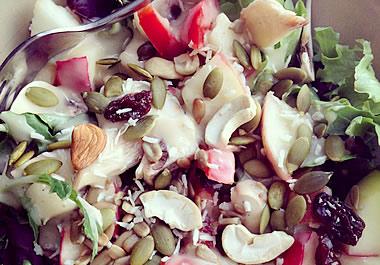 A vegan salad