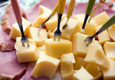 Tasty tidbits of cheese