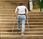 Crutch Illustration