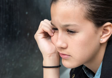 A lonely teenager can feel like an outcast.