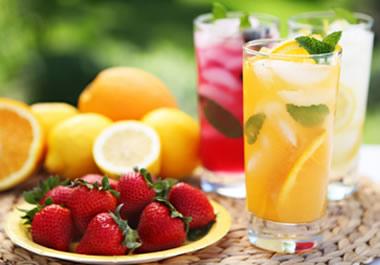 Healthy refreshments