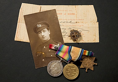 World War I memorabilia