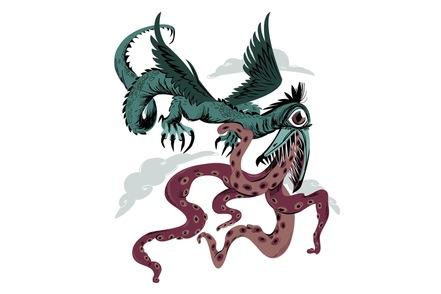 monster snallygaster photo