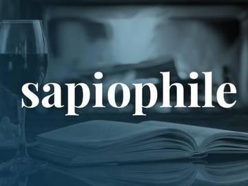 Sapiophile def
