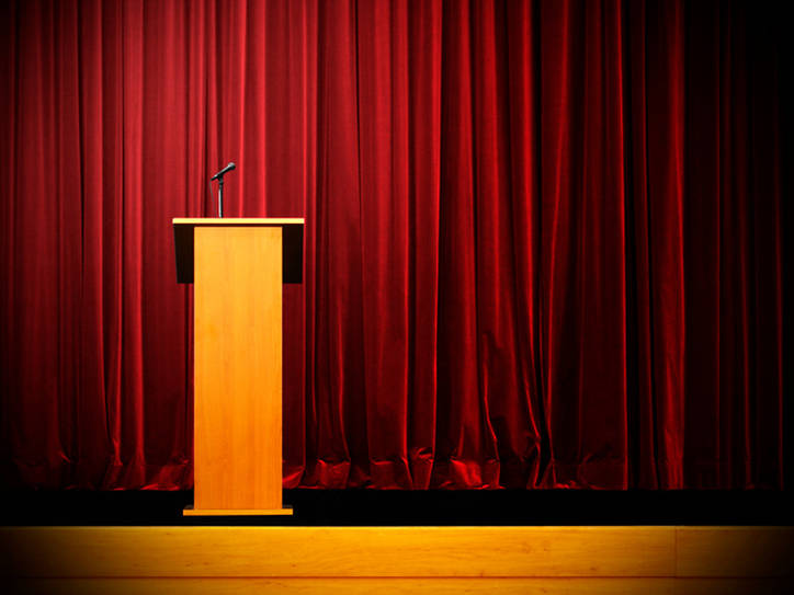 It's True: 'Podium' Can Be Used to Mean 'Lectern' | Merriam-Webster