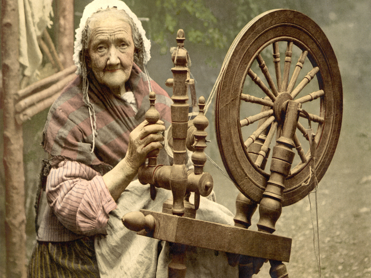 Where does the term spinster come from? | Merriam-Webster