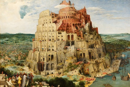 peter bruegel tower of babel painting