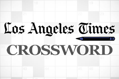 image relating to Printable Crossword Puzzles La Times titled L.A. Moments Everyday Crossword Puzzle Merriam-Webster