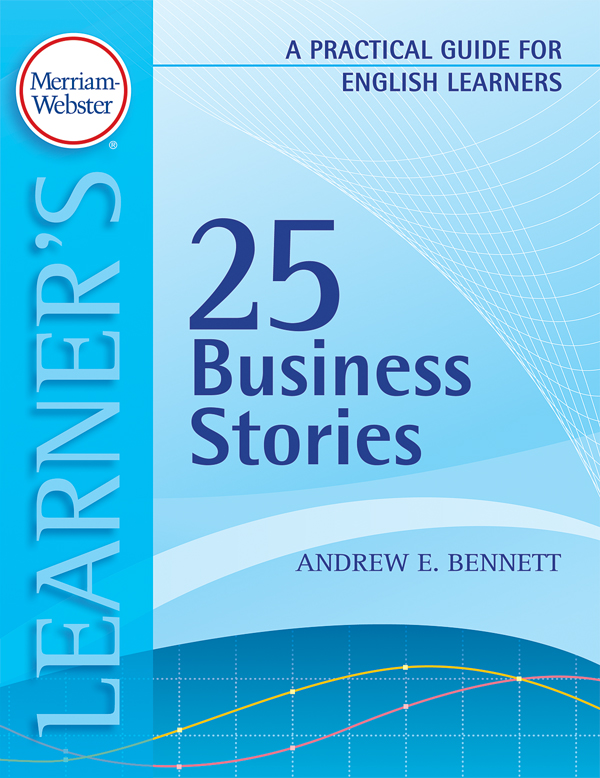 25 business stories: a practical guide for english learners book cover