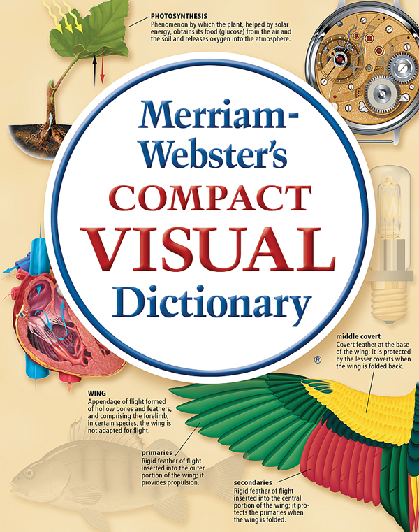 merriam-webster's compact visual dictionary book cover