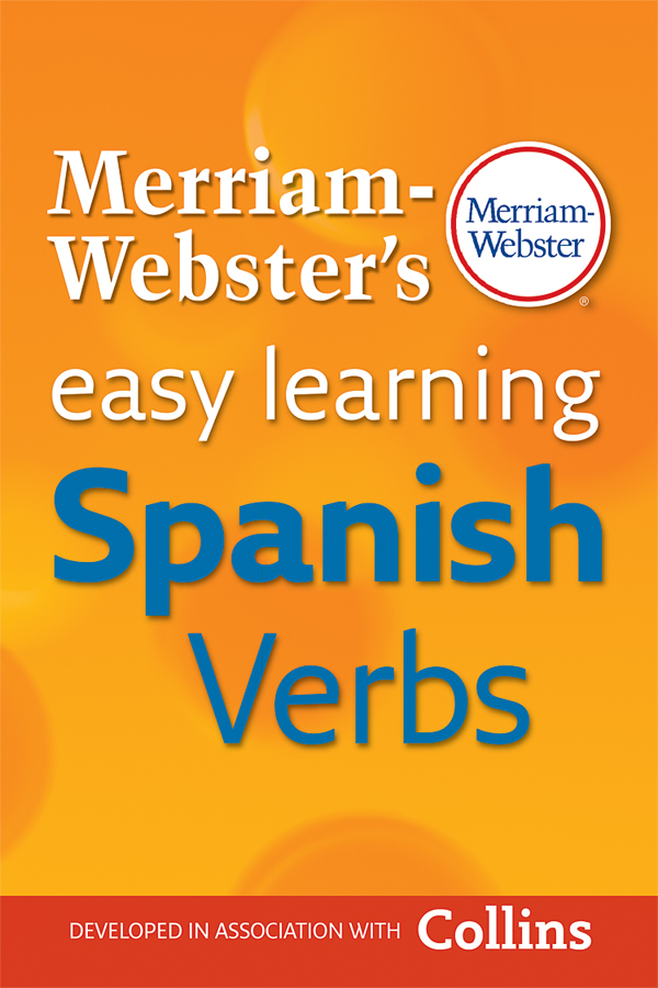 merriam-webster's easy learning spanish verbs book cover