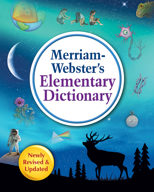 merriam-webster's elementary dictionary book cover