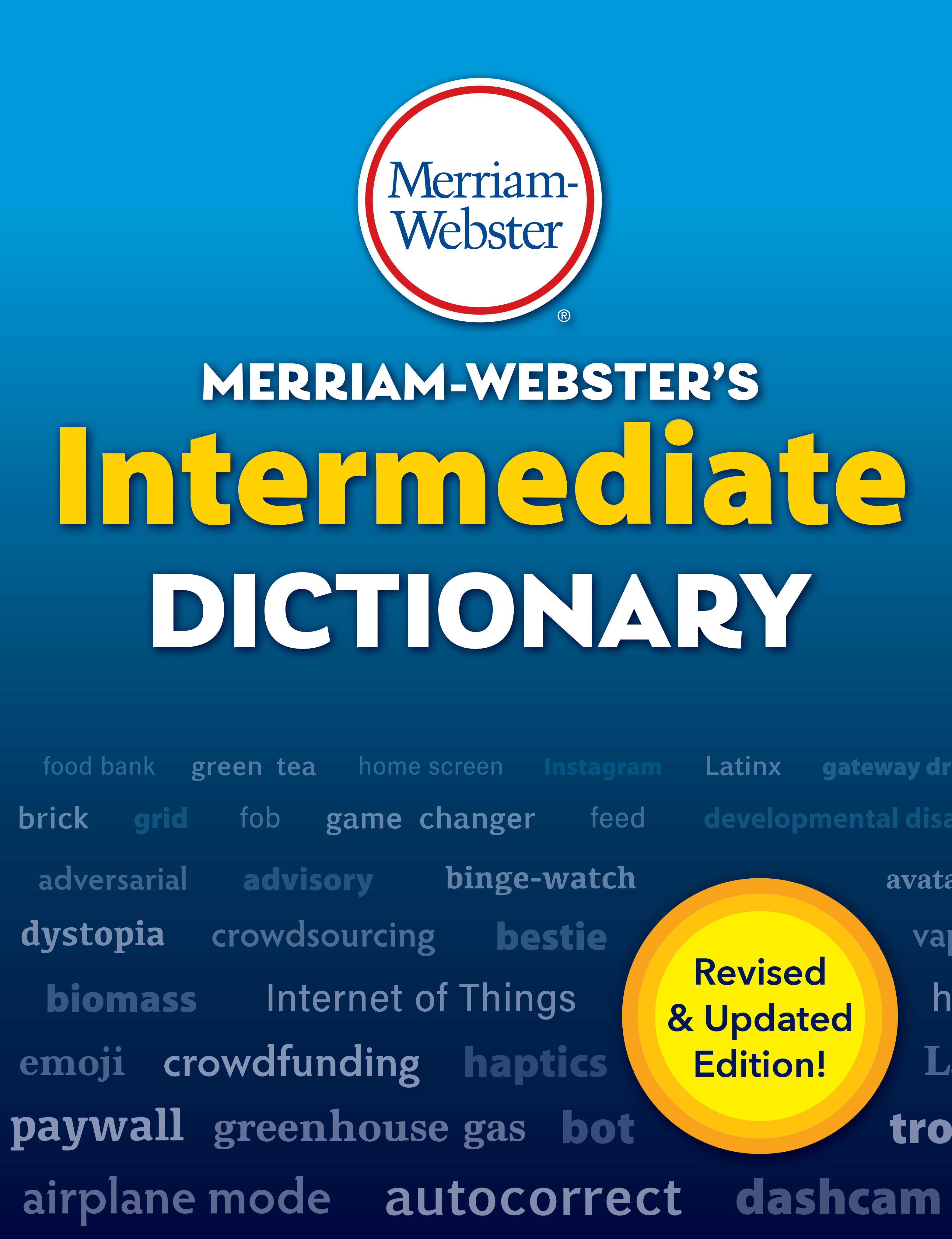merriam-webster's intermediate dictionary book cover