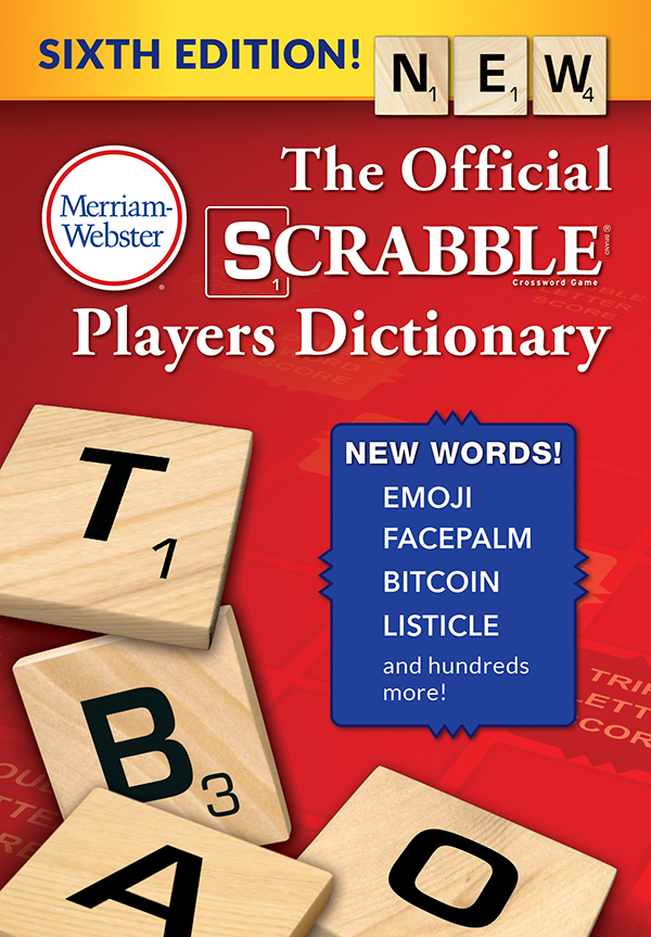 the official scrabble players dicitonary, sixth edition book cover