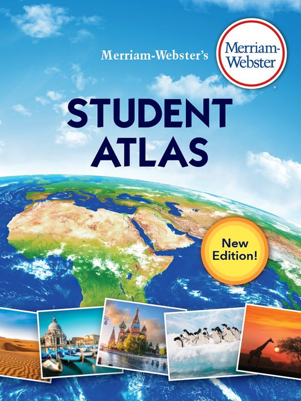 merriam-webster's student atlas book cover
