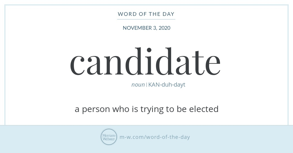 Word of the day 2020