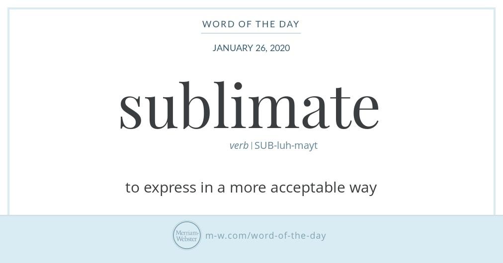 sublimate